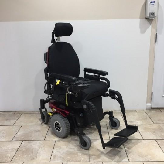Quantum J6 Rehab Tilt Powerchair