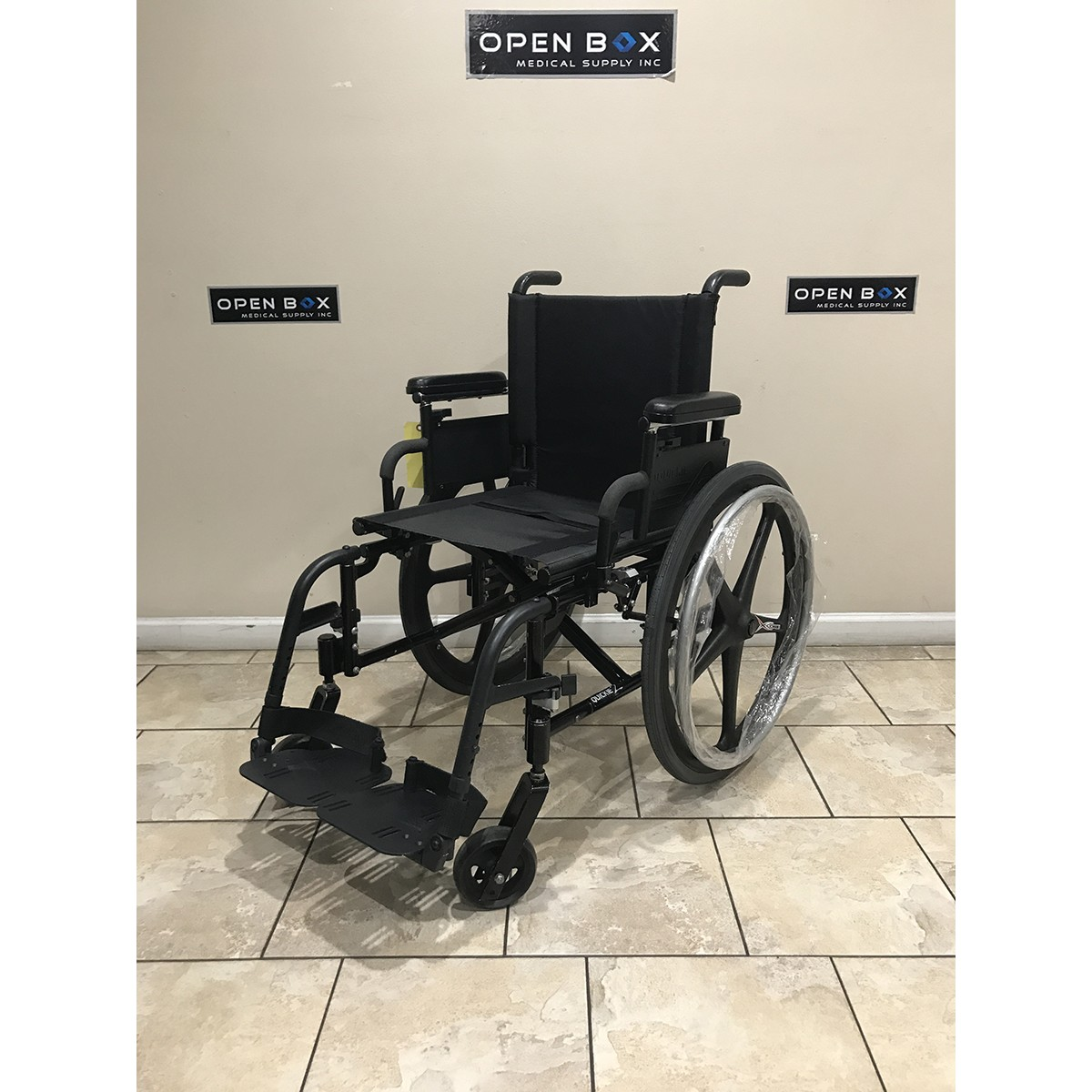Used Quickie 2 Folding Lightweight Wheelchair