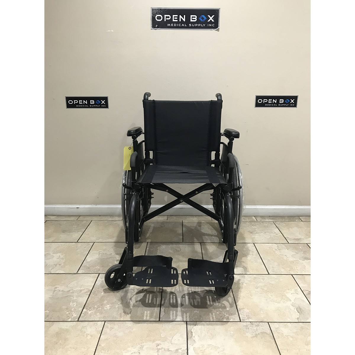 Front view of Used Quickie 2 Folding Lightweight Wheelchair