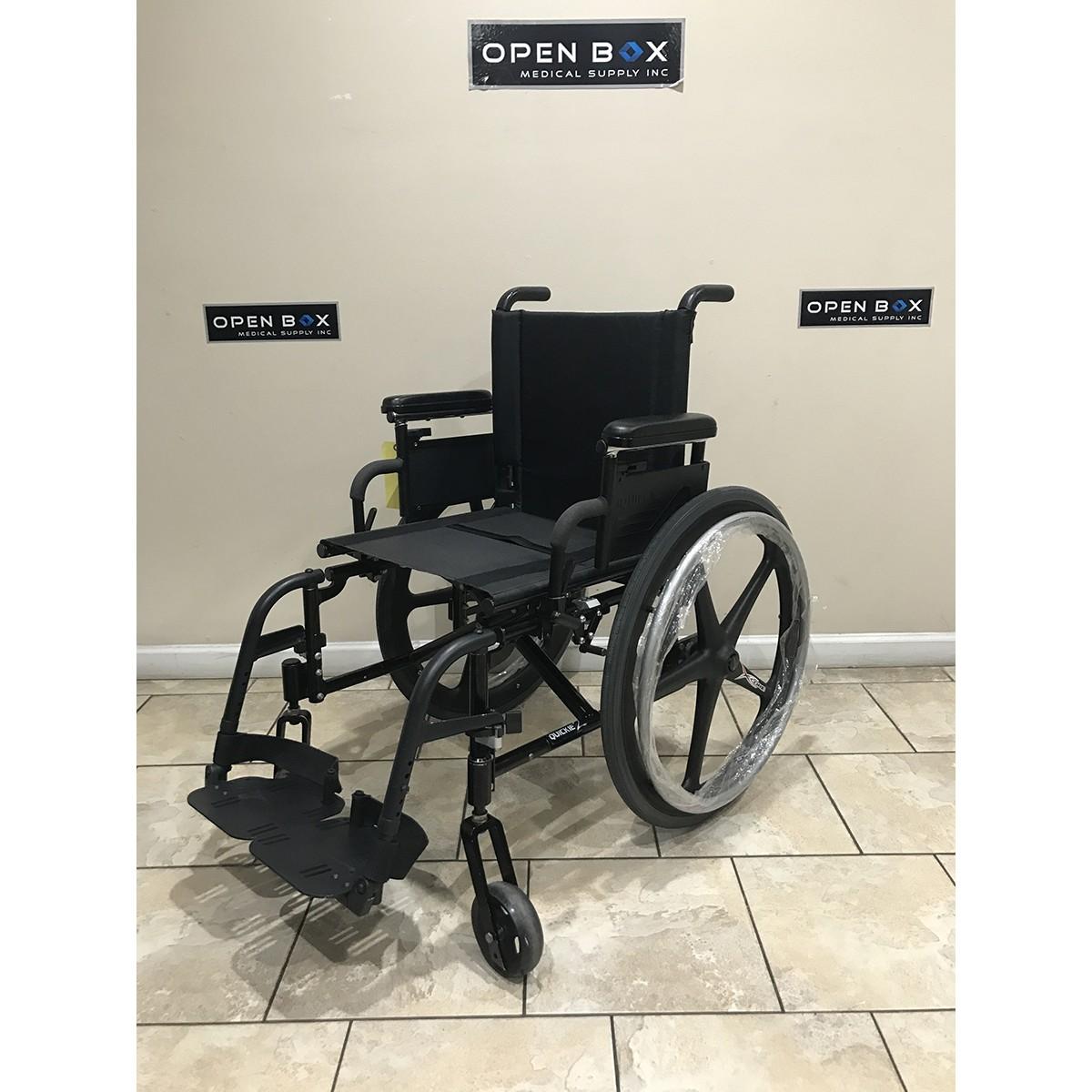 Used Quickie 2 Folding Lightweight Wheelchair