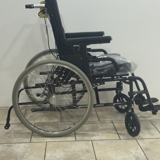 Used Quickie Recliner Manual Wheelchair