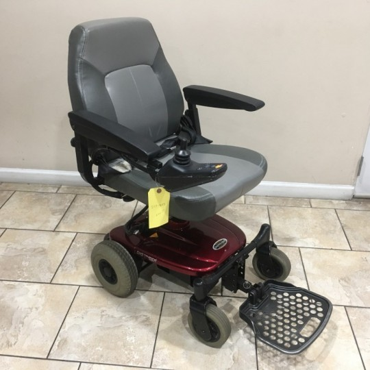 Used Shoprider Jimmie Portable Travel Power Wheelchair
