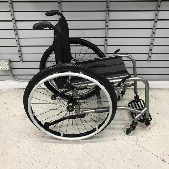 Side view of Used TiLite TX Folding Manual Wheelchair