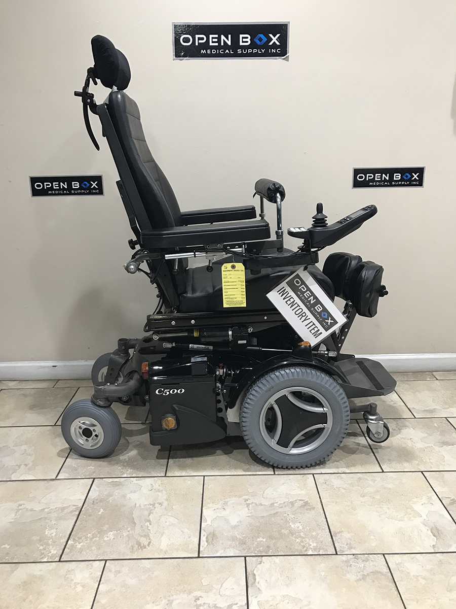Permobil C500 Vs Standing Power Wheelchair
