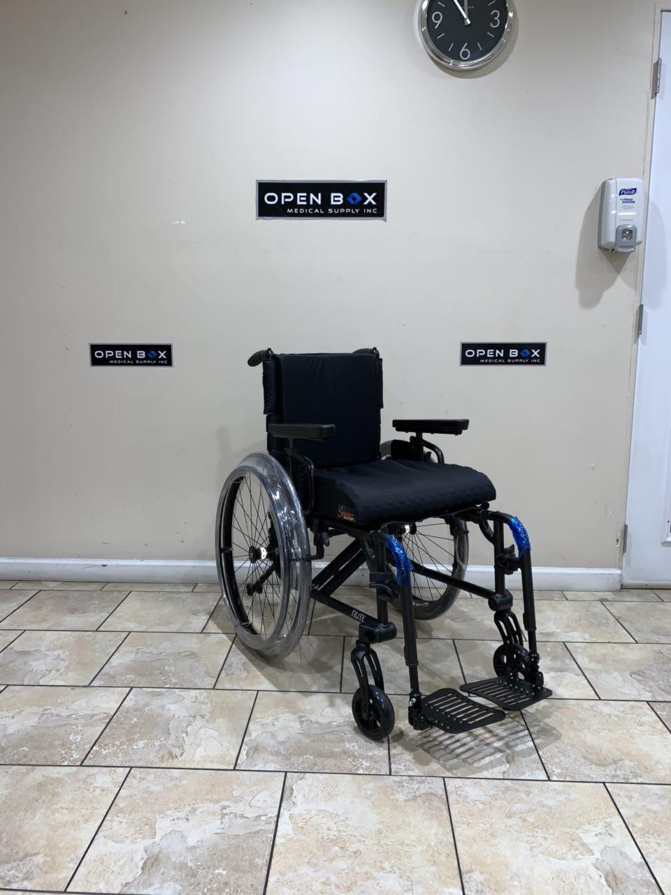 Open Box Tilite Aero X Ultra Lightweight Folding Wheelchair