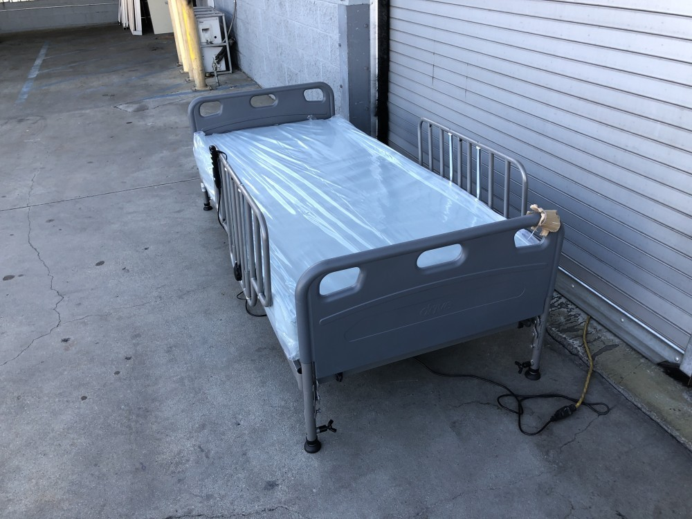 Used Drive Competitor Semi Electric Hospital Bed Package