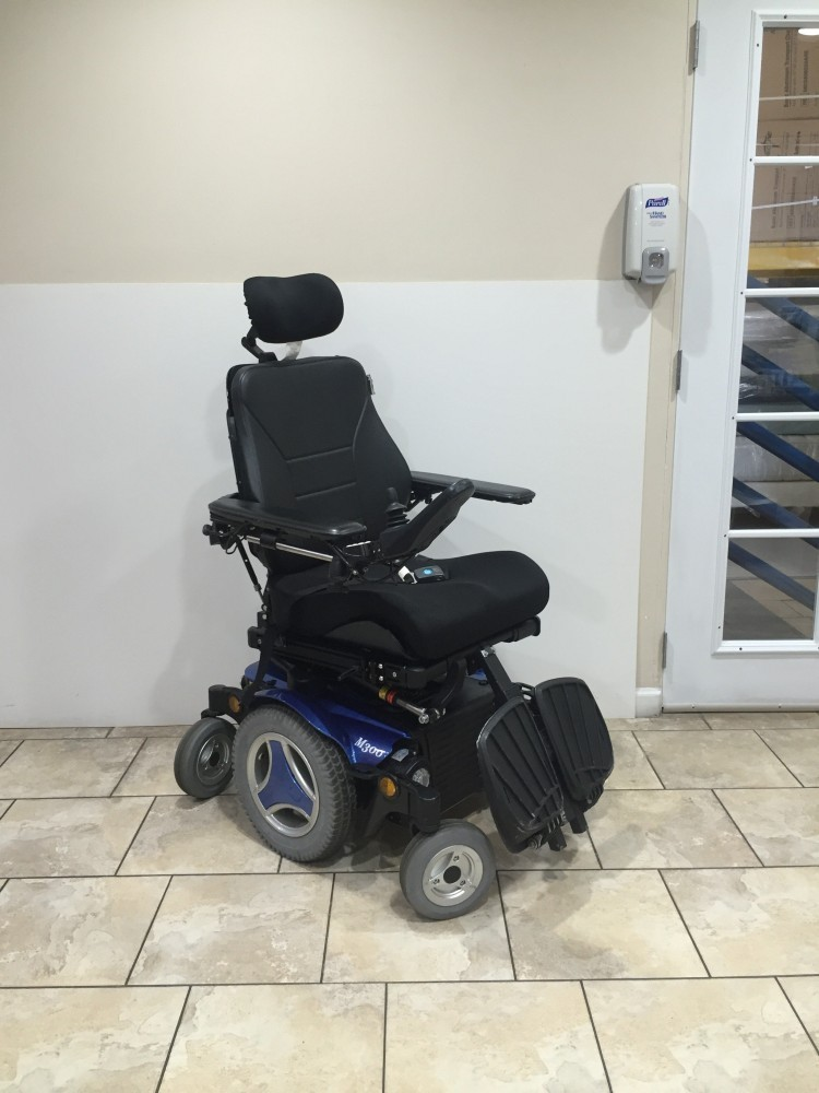 Permobil M300 Corpus 3g Power Chair W Power Recline
