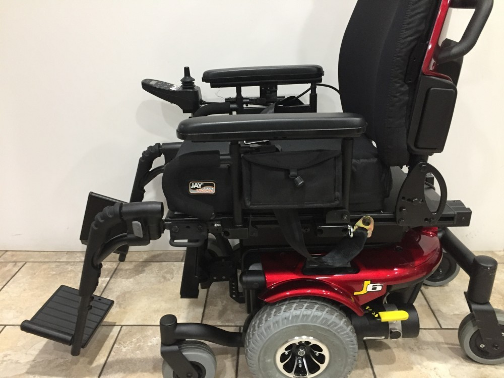 Quantum J6 Rehab Tilt Power Wheelchair