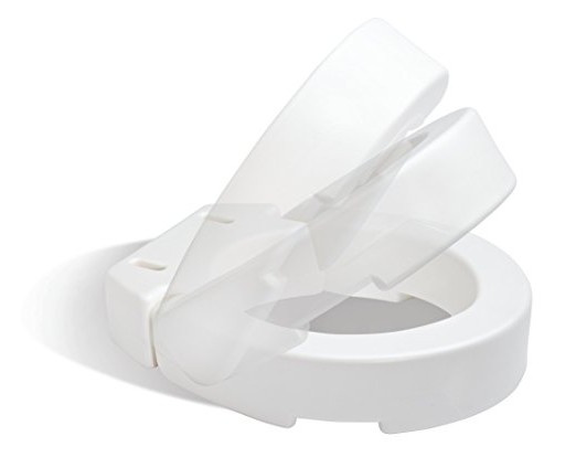 Carex Hinged Toilet Seat Riser Standard Round For Sale