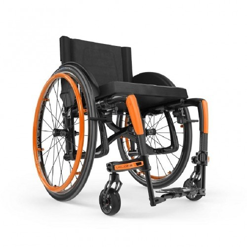 Front view of Orange Motion Composites Veloce