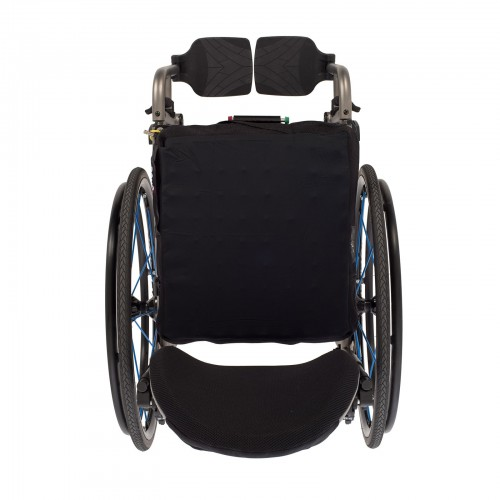 Top view of TiLite 2GX Series 2 Folding Titanium Wheelchair