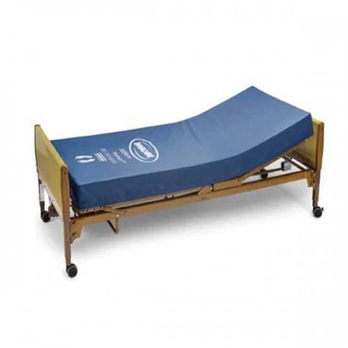 Invacare Full-Electric Hospital Bed and Softform Premier Mattress Package