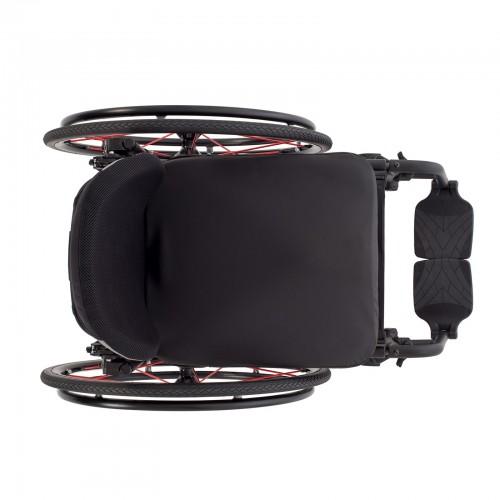 Top view of TiLite Aerox X Series 2 Folding Ultralight Wheelchair