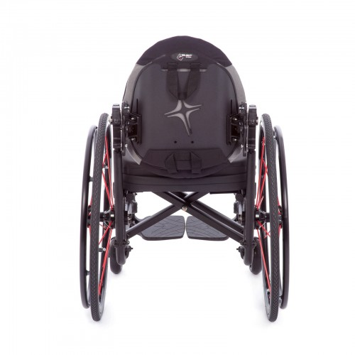 Back view of TiLite Aerox X Series 2 Folding Ultralight Wheelchair