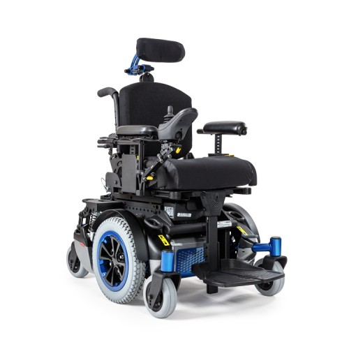 Blue AllTrack P Series Pediatric Power Wheelchair