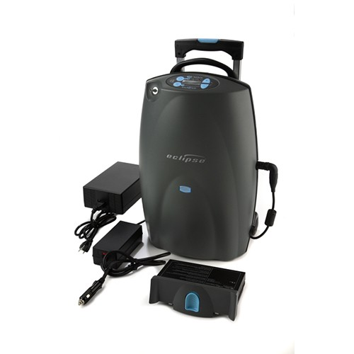 SeQual Eclipse 5 Portable Oxygen Concentrator w/ autoSAT + Additional Battery