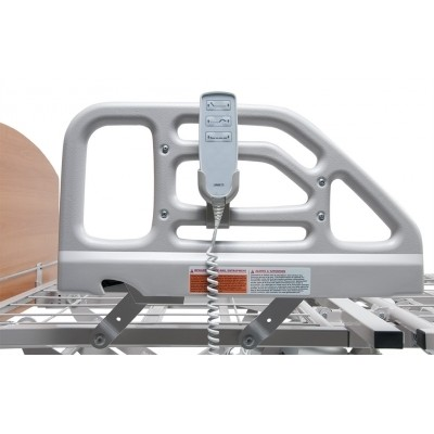 Rails on Basic American Zenith 7100 Hi-Low Hospital Bed Package