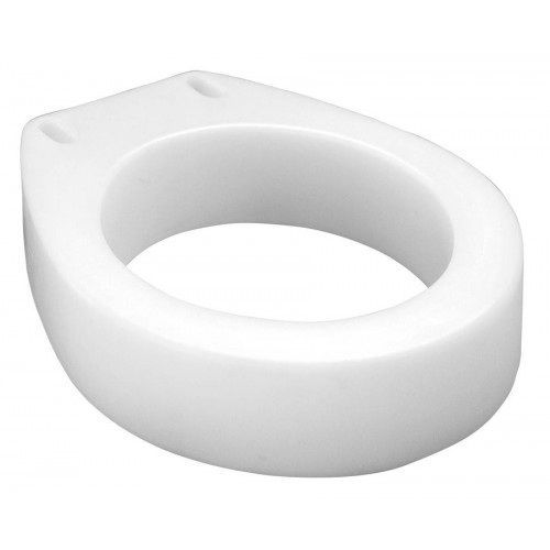 Carex Raised Toilet Seat Elevator Round