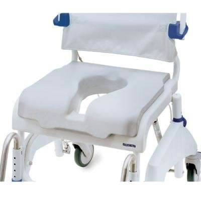 """Chair of Clarke Healthcare OceanSP Shower Chair with 24"""" Wheels"""