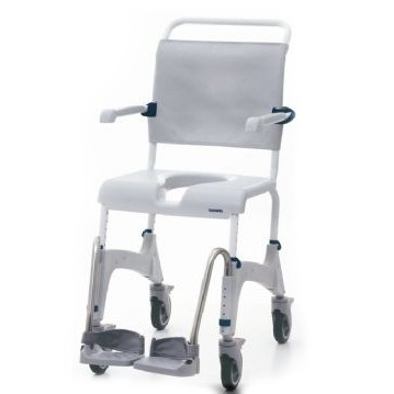"Clarke Healthcare Ocean Shower Chair with 5"" Casters"