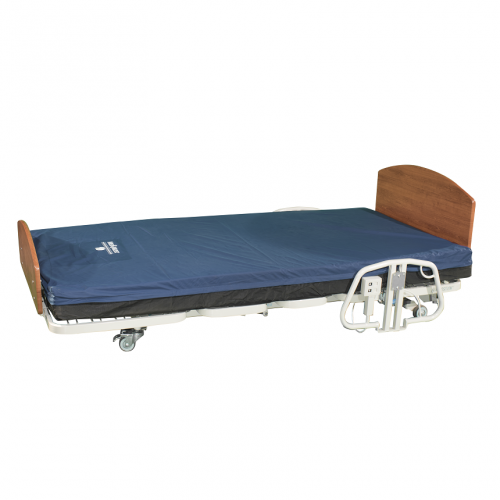 Comfort Wide EX5000 Expandable Width Long Term Care Low Bed with Mattress