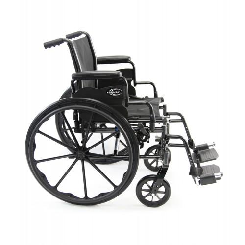 Side view of Karman LT-700T Lightweight Wheelchair