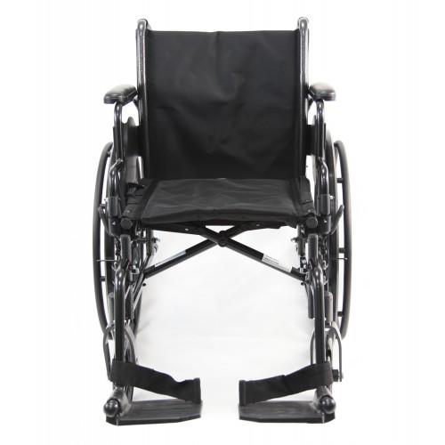 Front view of Karman LT-700T Lightweight Wheelchair