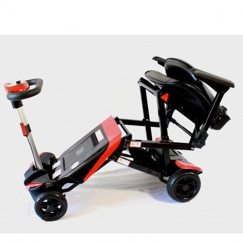 Folded Enhance Mobility Solax Transformer Automatic Folding Scooter