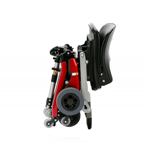 Folded FreeRider Luggie Classic Folding Mobility Scooter