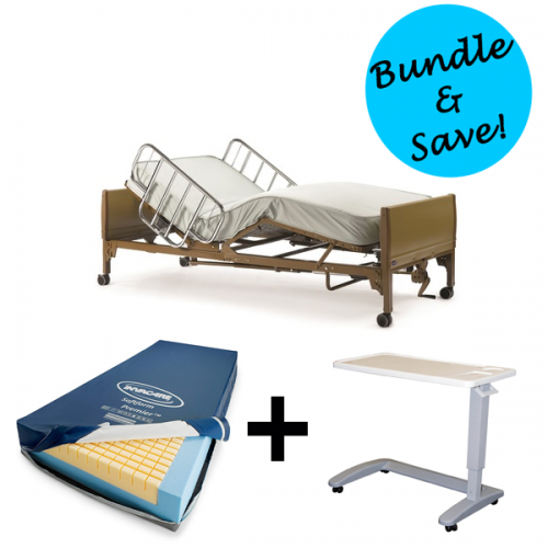 Full-Electric Hospital Bed Rental Bundle