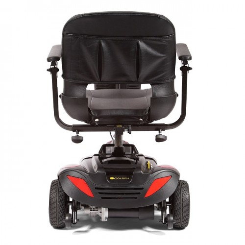 Back view of Golden Tech Buzzaround LT 3-Wheel Mobility Scooter