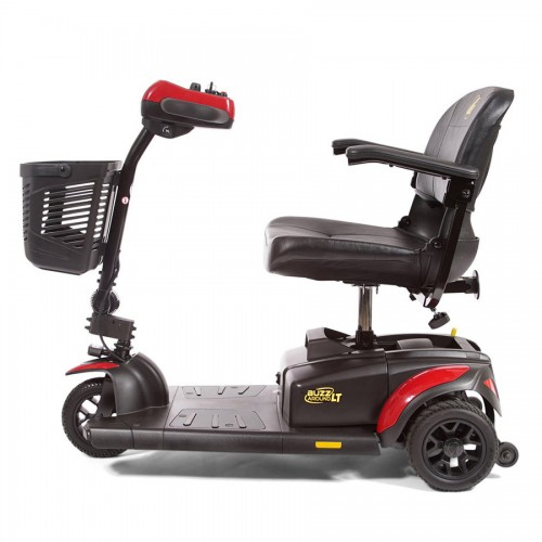 Side view of Golden Tech Buzzaround LT 3-Wheel Mobility Scooter
