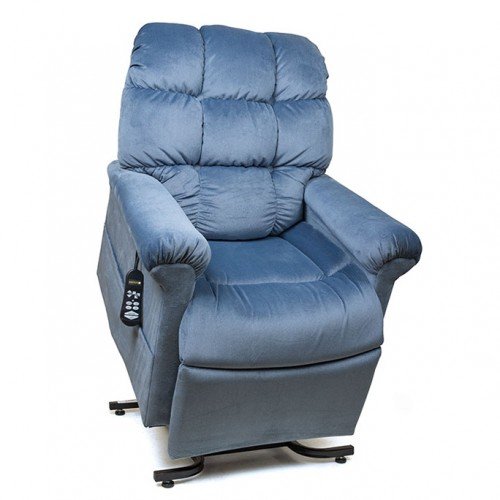 Blue Golden Tech Cloud Infinite Position Lift Chair