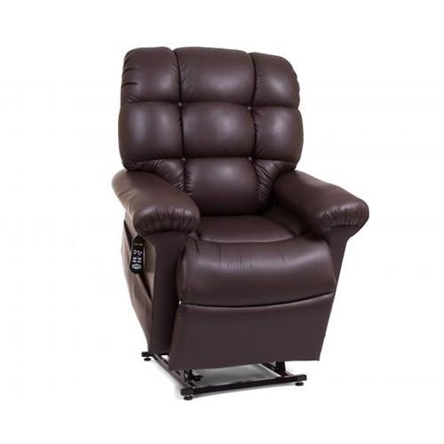 Dark Brown Golden Tech Cloud Lift Chair with Twilight