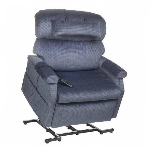 Blue Golden Tech Comforter Wide 3-Position Lift Chair