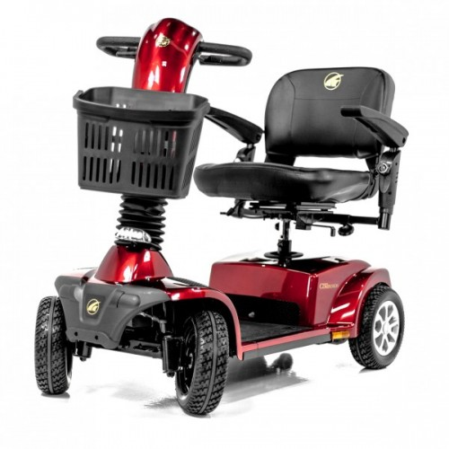 Red Golden Tech Companion 4 Wheel Mobility Scooter