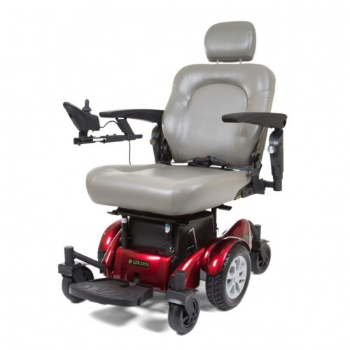 Front view of Golden Tech Compass HD GP620 Power Wheelchair