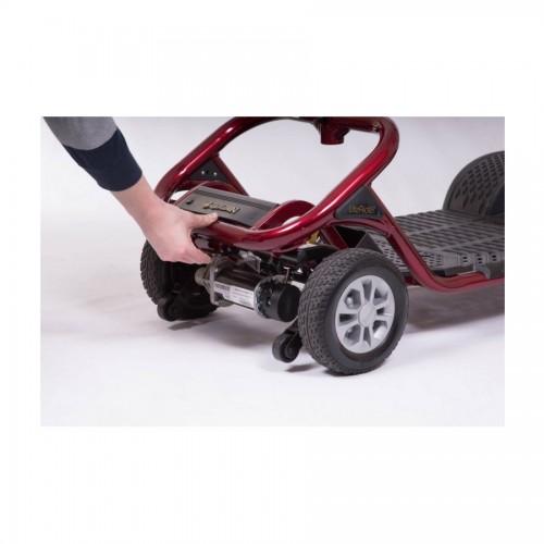 Back wheels of Golden Tech Literider 4-Wheel Mobility Scooter