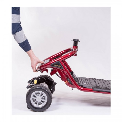 Removing Scooter from Wheels on Golden Tech Literider 4-Wheel Mobility Scooter