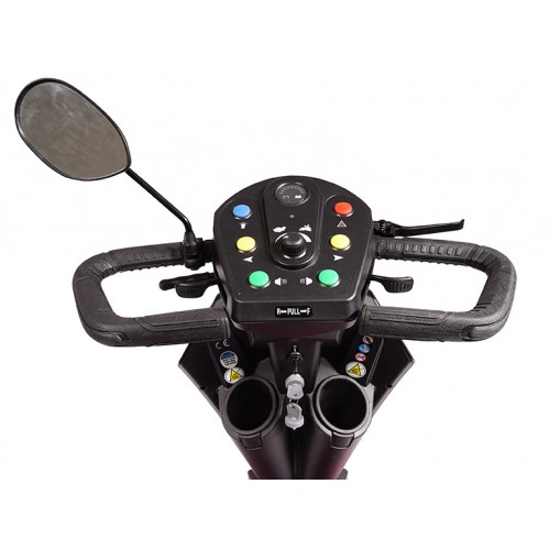 Controls on Golden Tech Patriot 4 Wheel Mobility Scooter