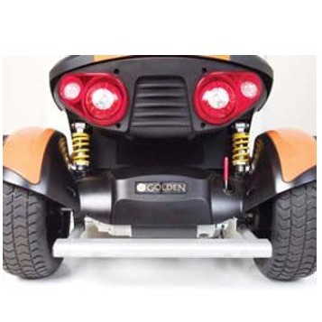 Back Headlights of Golden Tech Patriot 4 Wheel Mobility Scooter