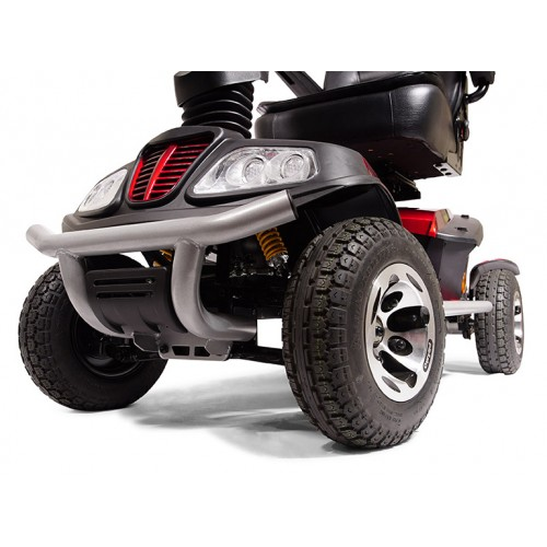 Wheels on Golden Tech Patriot 4 Wheel Mobility Scooter