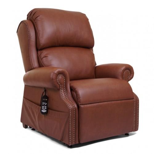 Brown Golden Tech Pub Chair Infinite Position Lift Chair