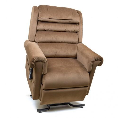 Beige Golden Tech Relaxer Infinite Position Lift Chair