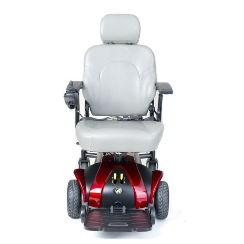 Front view of Red Golden Technologies Alante Sport Power Wheelchair