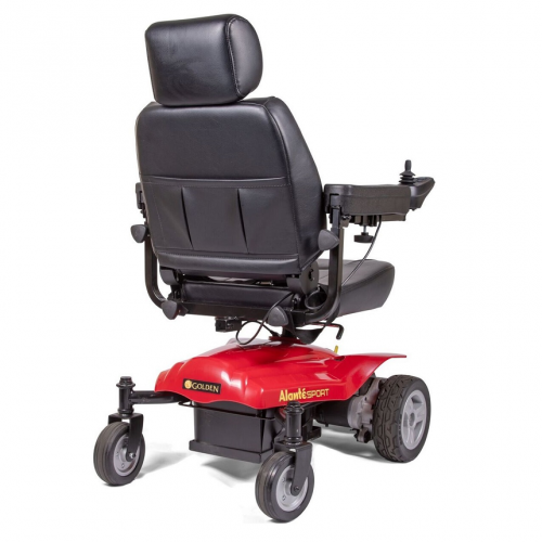 Back view of Golden Technologies Atlante Sport Power Wheelchair