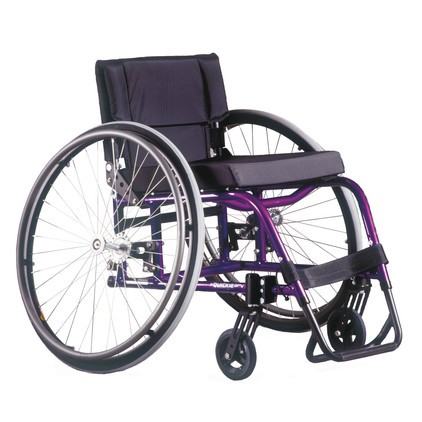 Purple Quickie GP/GPV Rigid Manual Wheelchair