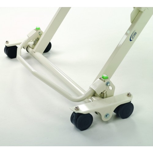 Wheels of Invacare Carroll CS7 Hi-Low Hospital Bed Package