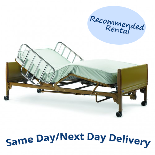 Invacare Full-Electric Hospital Bed Rental