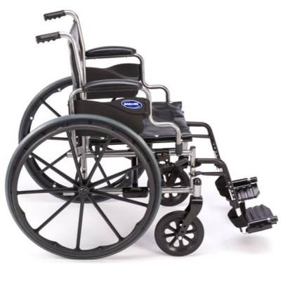 Side view of Invacare Tracer EX2 Manual Wheelchair